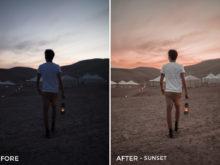 Sunset - Alex Tritz Lightroom Presets Vol. 2 - FilterGrade