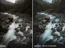 Milky Streams - Kirk Richards Lightrooom Presets Vol. 2 - FilterGrade