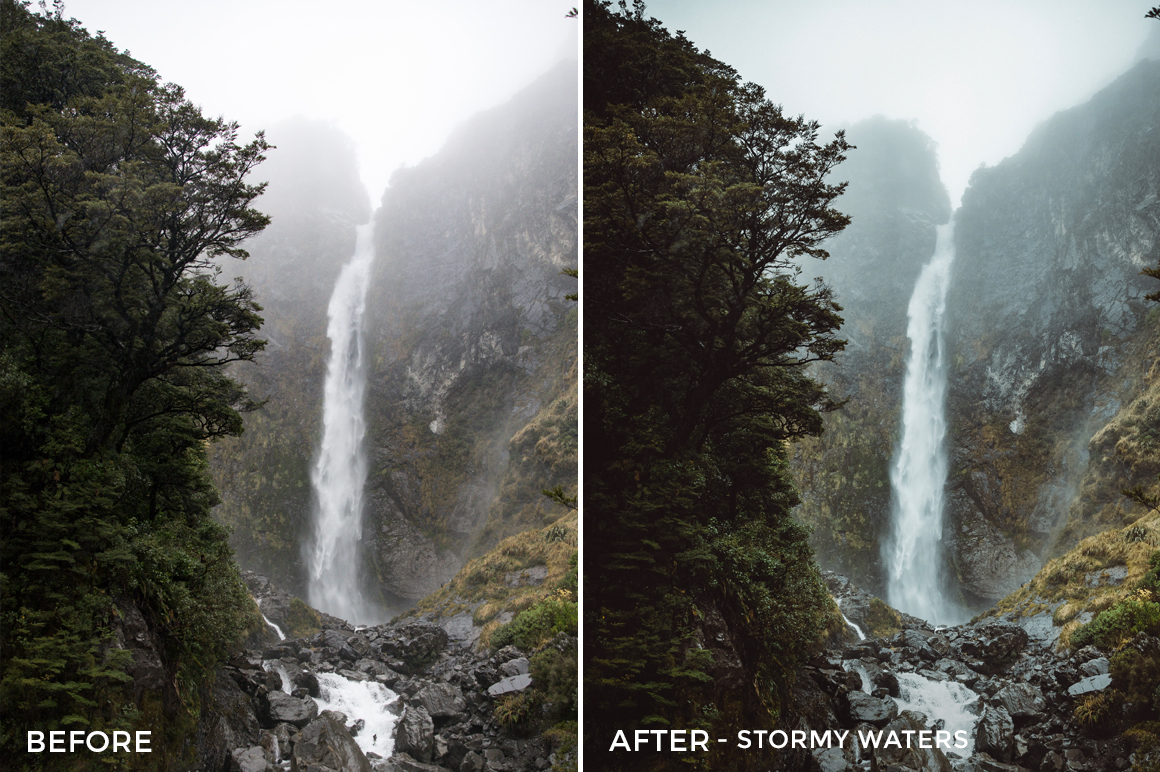 Stormy Waters (NEW) - Kirk Richards Lightrooom Presets Vol. 2 - FilterGrade