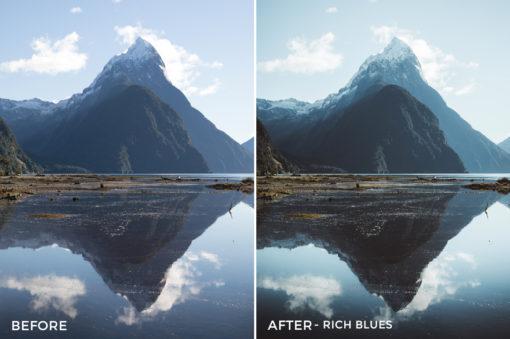 Rich Blues - Kirk Richards Lightrooom Presets Vol. 2 - FilterGrade