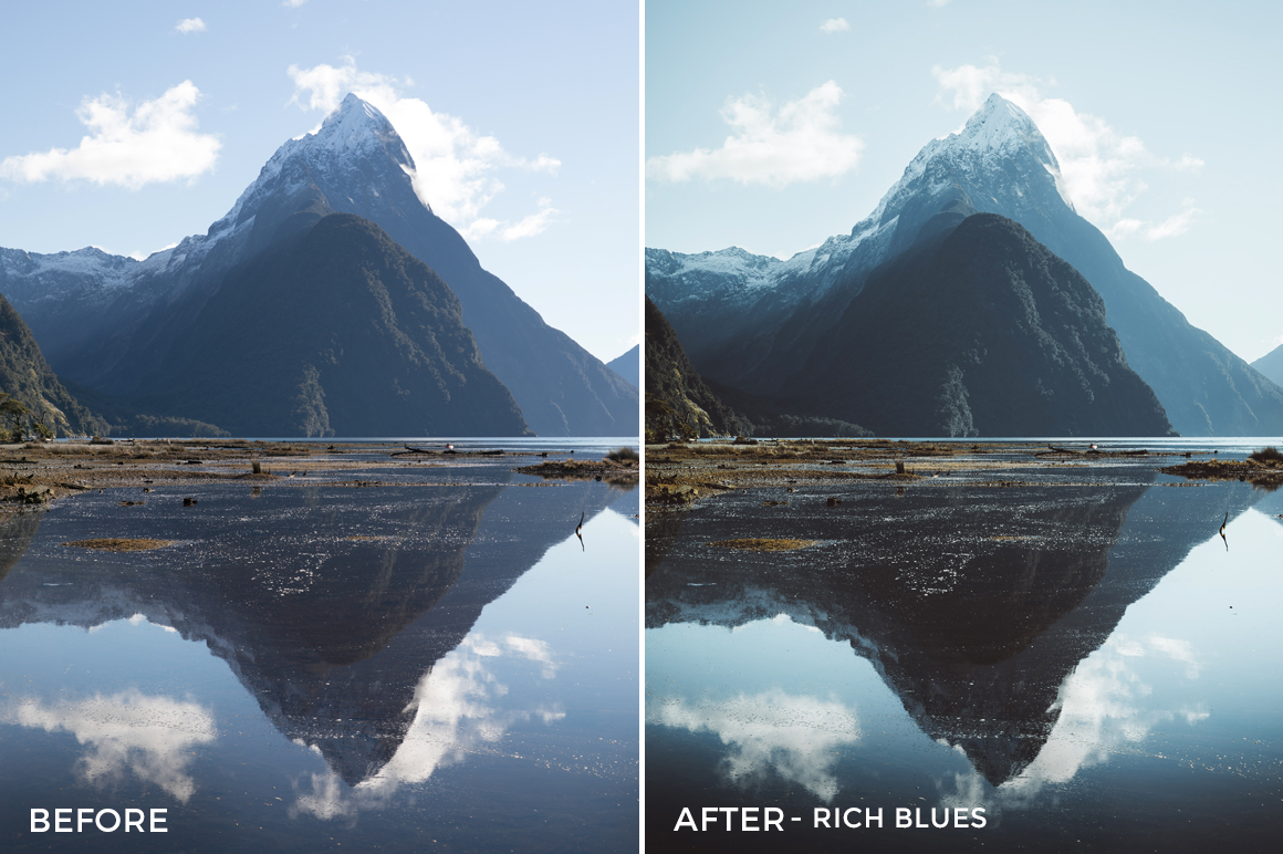 Rich Blues - Kirk Richards Lightrooom Presets Vol. 2 - FilterGrade