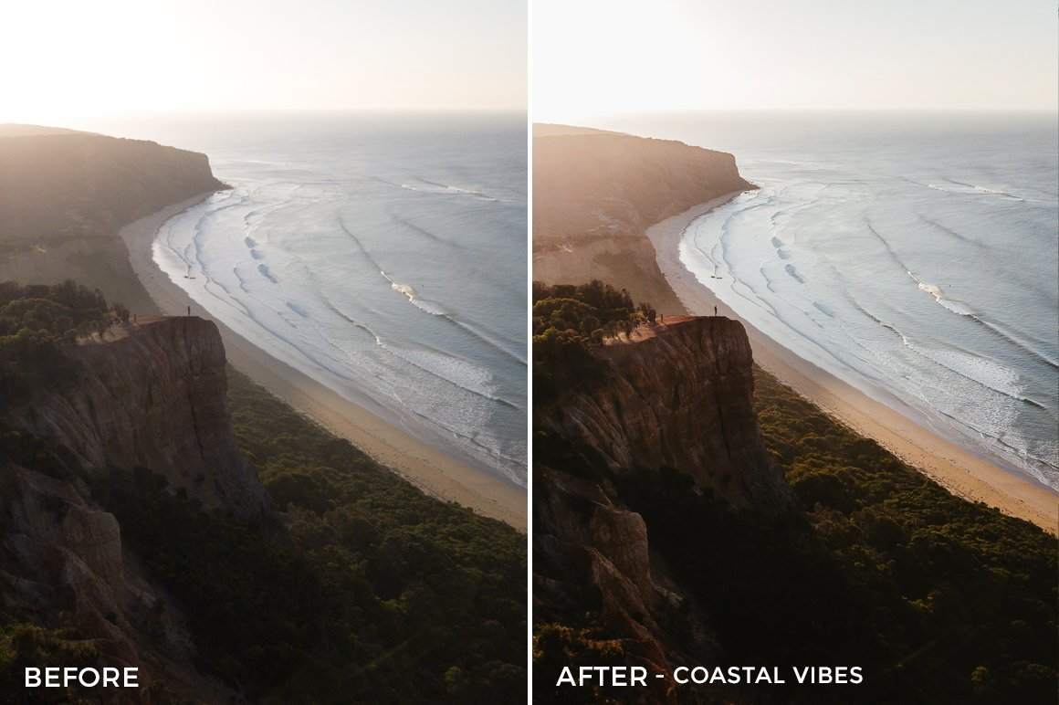 Coastal Vibes - Kirk Richards Lightrooom Presets Vol. 2 - FilterGrade
