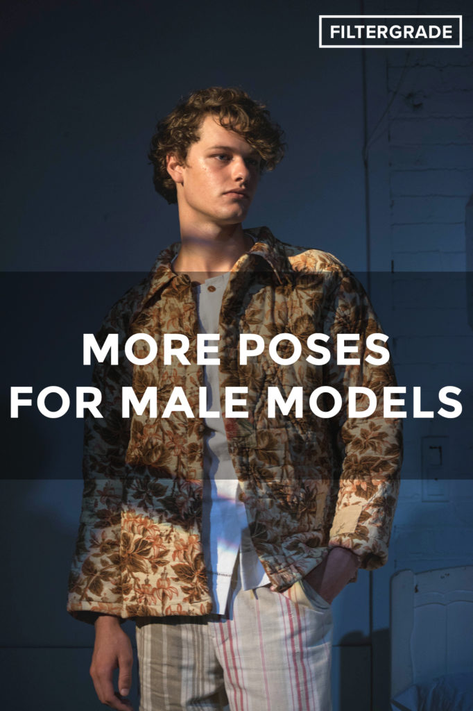 18+ More Poses for Male Models