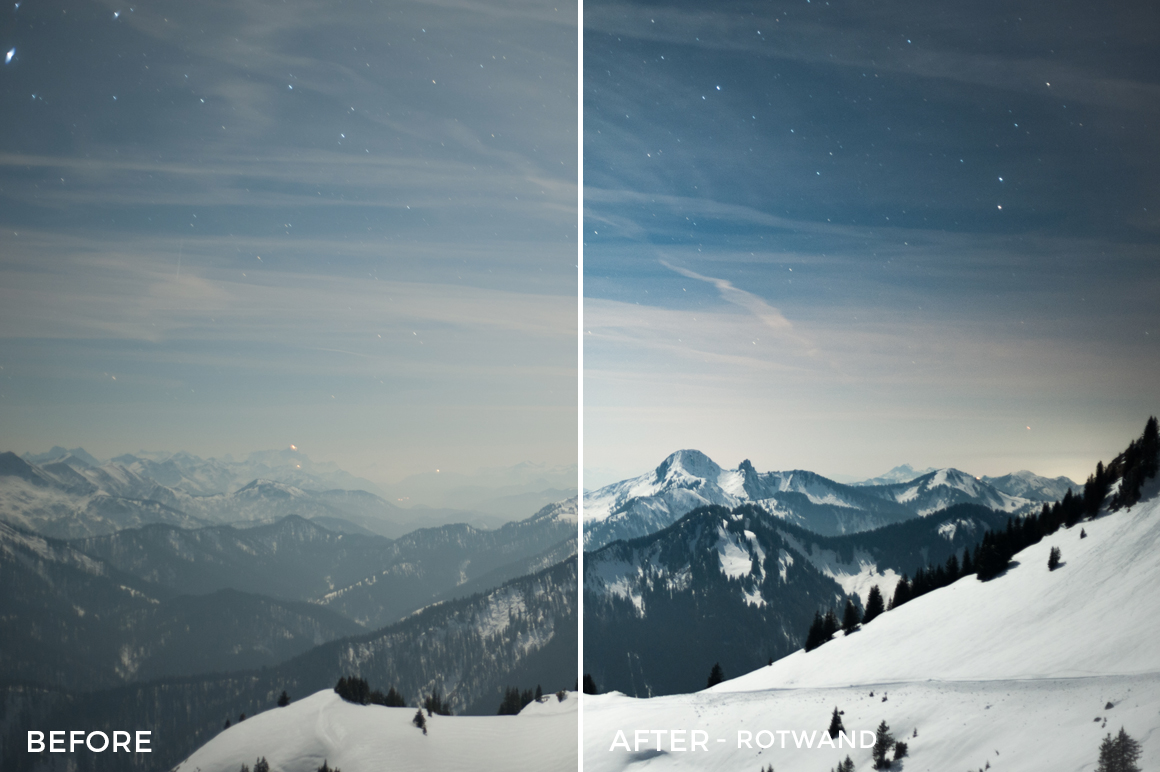 Rotwand - Bastian Schertel Lightroom Presets - FilterGrade