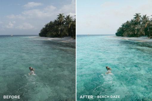 Beach Daze - The Wanderlovers Lightroom Presets - FilterGrade
