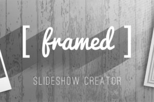 Framed Slideshow Creator After Effects Template