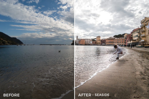 Seaside - Fabio Fimmano Lightroom Presets - FilterGrade