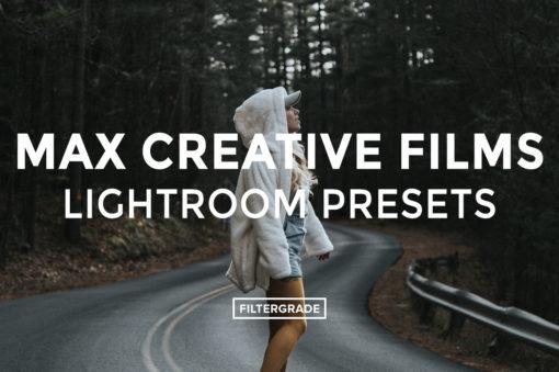 Max Creative Films Lightroom Presets - FilterGrade