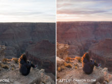 Canyon Glow - Dani the Explorer Lightroom Presets - FilterGrade