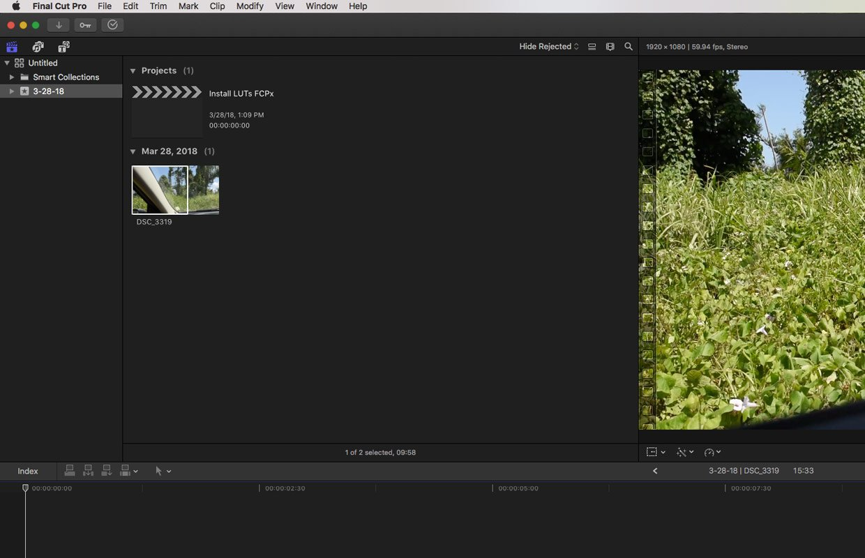 How to Install LUTs in Final Cut Pro X - FilterGrade