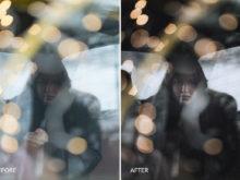 bokeh effect contrast