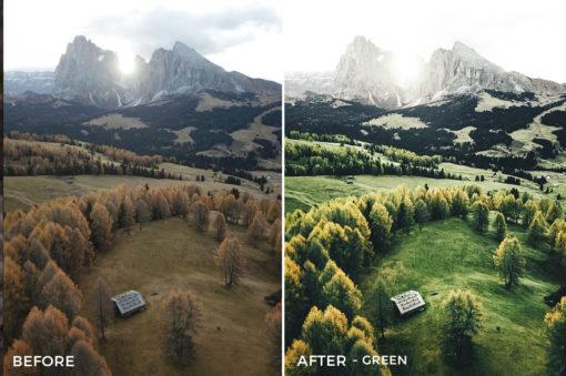 Green - Franck Reporter Lightroom Presets - FilterGrade