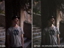 SN Explore Portrait 001 - Nathan Saillet Lightroom Presets - FilterGrade