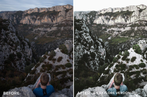SN Explore Verdon 001 - Nathan Saillet Lightroom Presets - FilterGrade