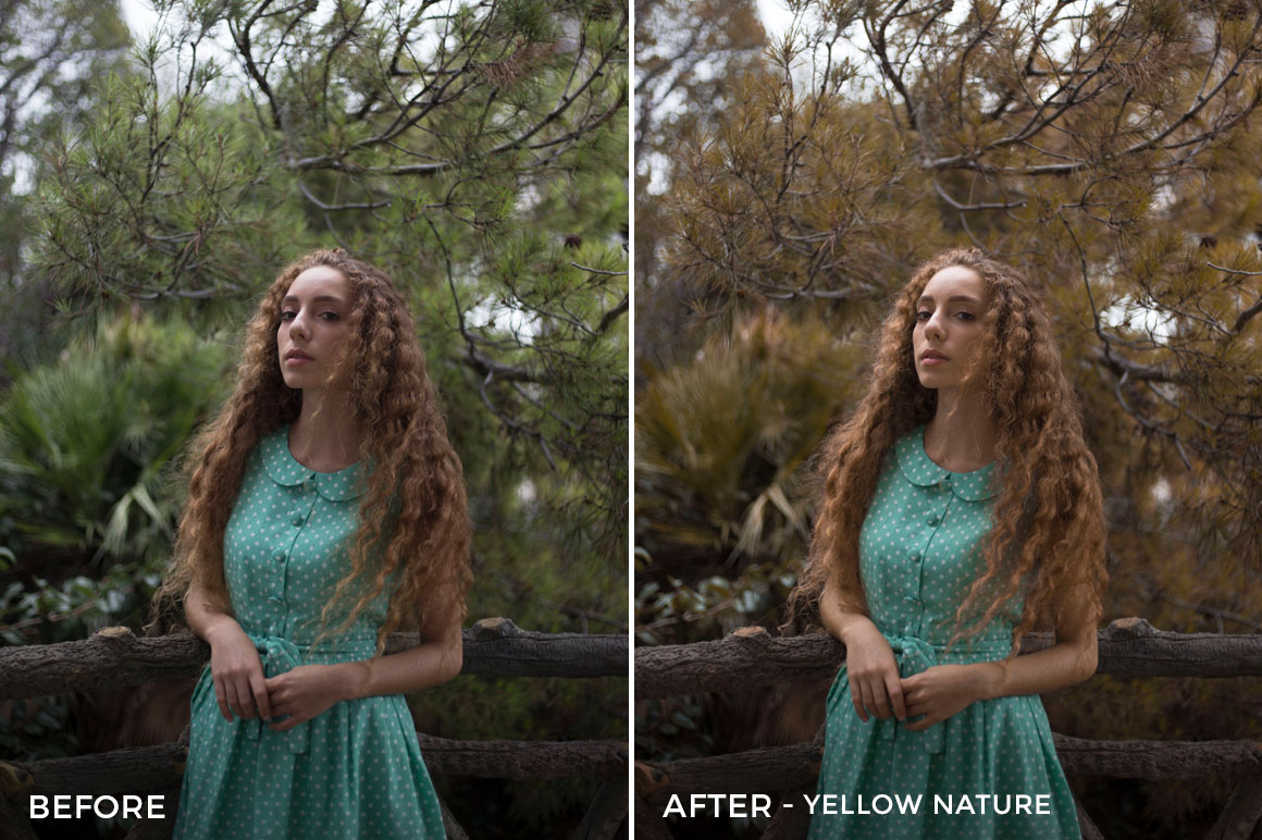 Yellow Nature - Greta Larosa Lightroom Presets - FilterGrade