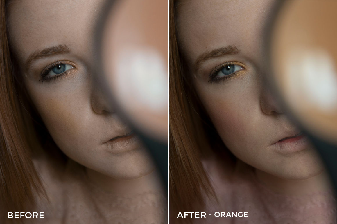 Orange - Greta Larosa Lightroom Presets - FilterGrade