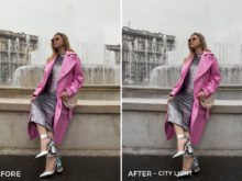 City Light - Greta Larosa Lightroom Presets - FilterGrade
