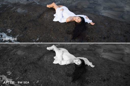 BW Sea - Greta Larosa Lightroom Presets - FilterGrade