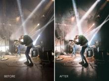 9.Indie Spotlight - Merrick Winter Live Music Lightroom Presets - FilterGrade