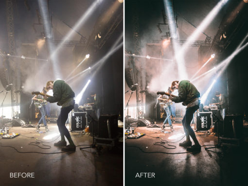 9.Indie Spotlight - Merrick Winter Live Music Lightroom Presets - FilterGrade