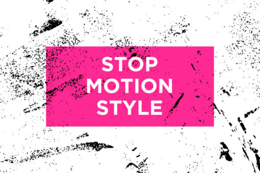 stop motion style animated textures for video creators