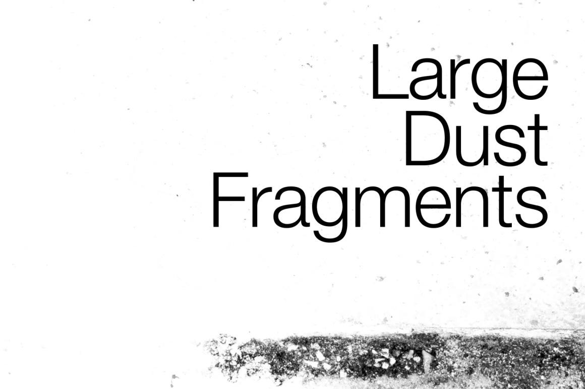 dust fragments video overlay
