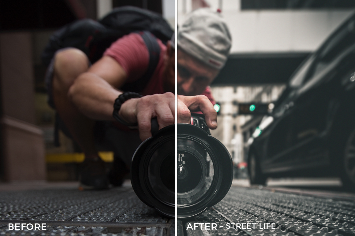 Street Life - Corey Smith Lightroom Presets - FilterGrade