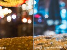 Moody Night Vibes - Corey Smith Lightroom Presets - FilterGrade