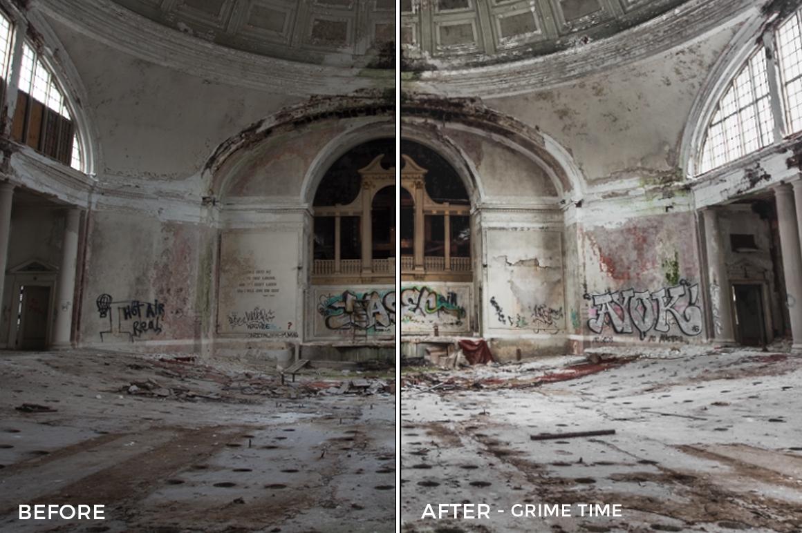 Grime. Time - Corey Smith Lightroom Presets - FilterGrade