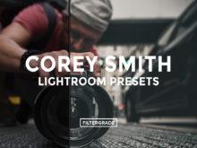 Cover - Corey Smith Lightroom Presets - FilterGrade