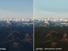 Mountain Layers - Kirk Richards Lightrooom Presets Vol. 2 - FilterGrade