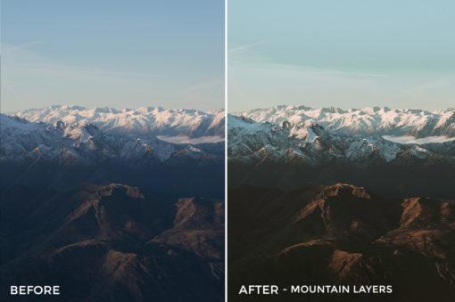 Mountain Layers - Kirk Richards Lightrooom Presets Vol. 2 - FilterGrade