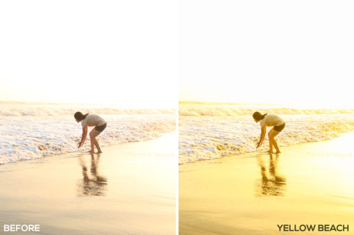 Yellow Beach - Samuel Silitonga Jr. Lightroom Presets - FilterGrade