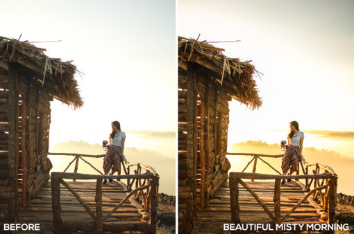 Beautiful Misty Morning - Samuel Silitonga Jr. Lightroom Presets - FilterGrade