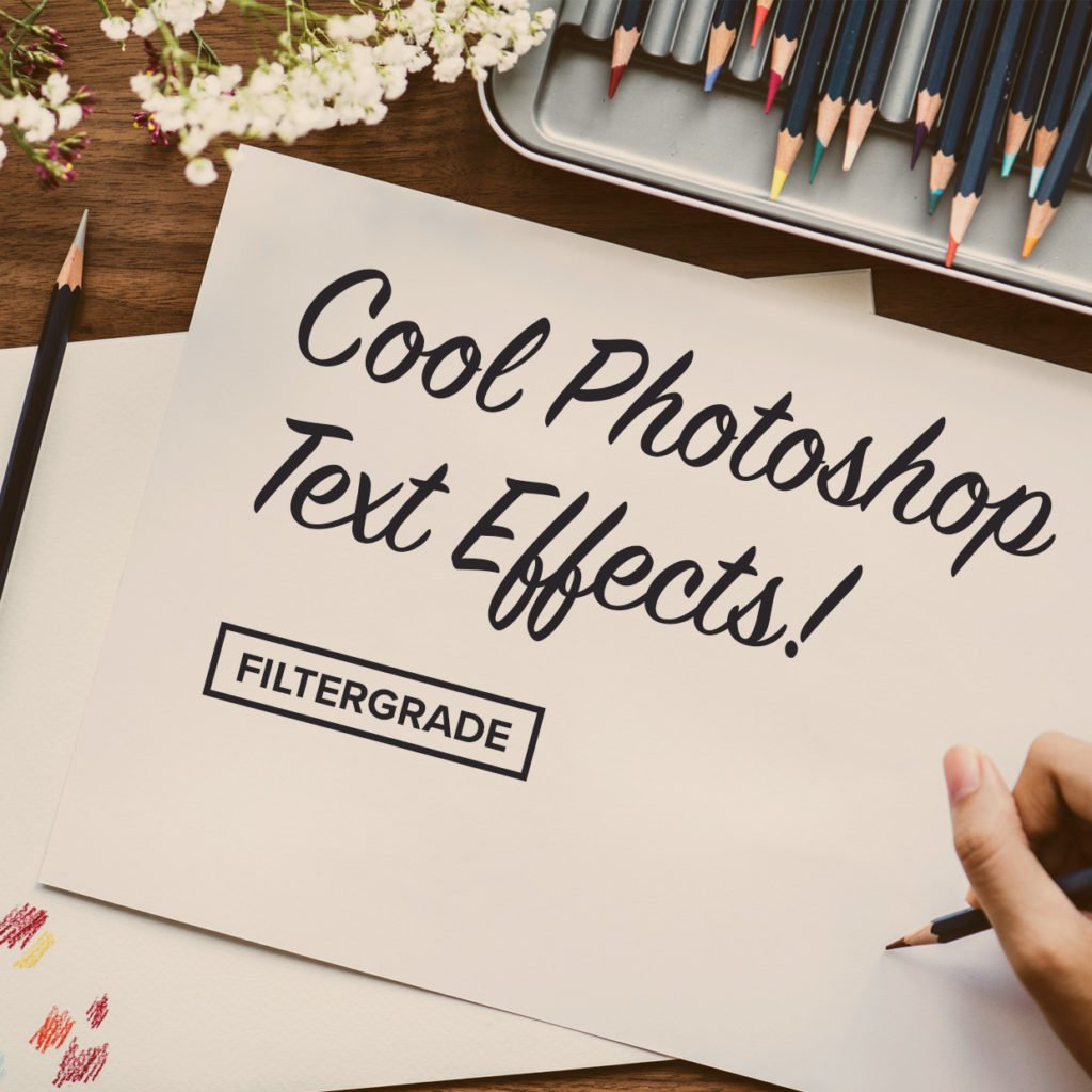 Interesting and fun Photoshop Text Effect tutorials to follow and try out!