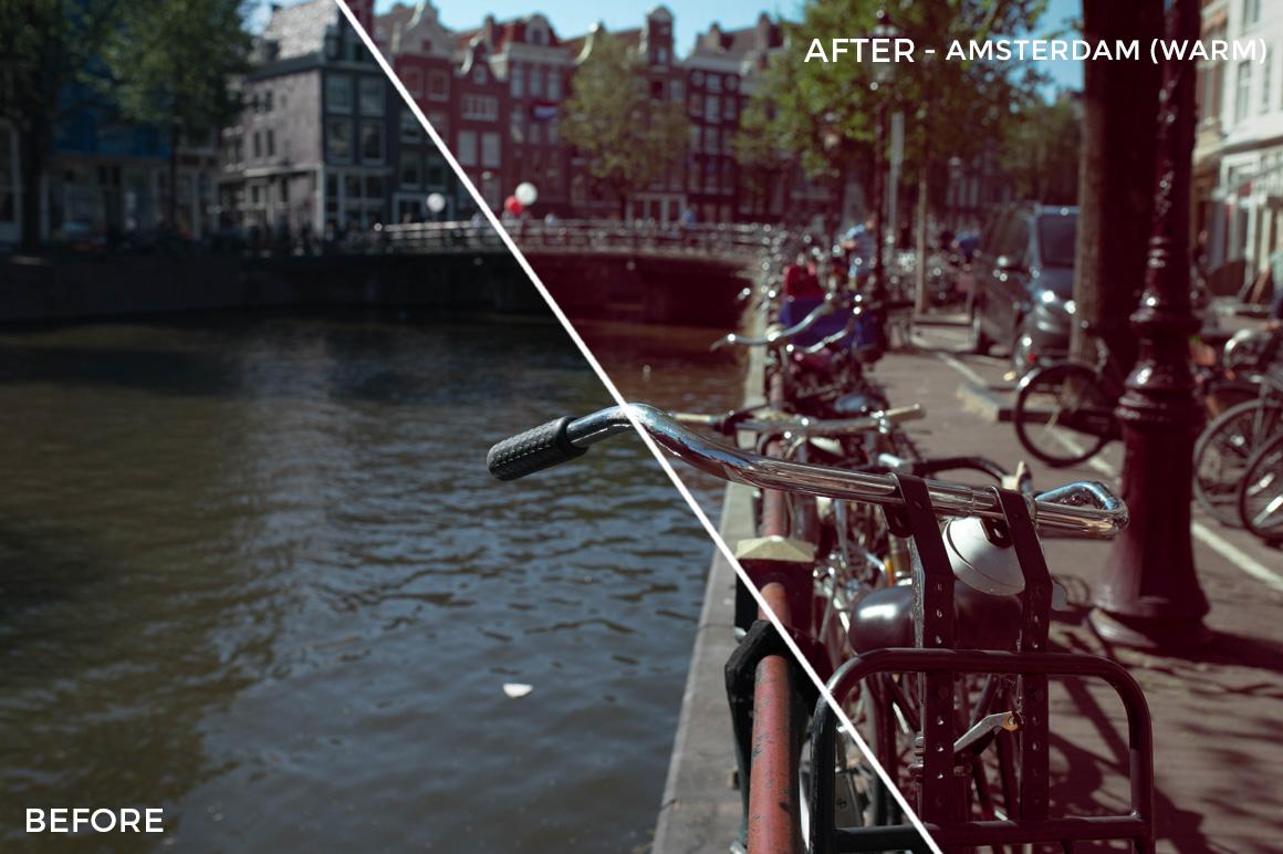 Amsterdam (Warm) - The FilterGrade Agency Lightroom Presets Bundle - FilterGrade
