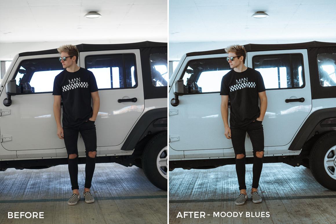 Moody Blues - Drew Dirksen Lightroom Presets - FilterGrade