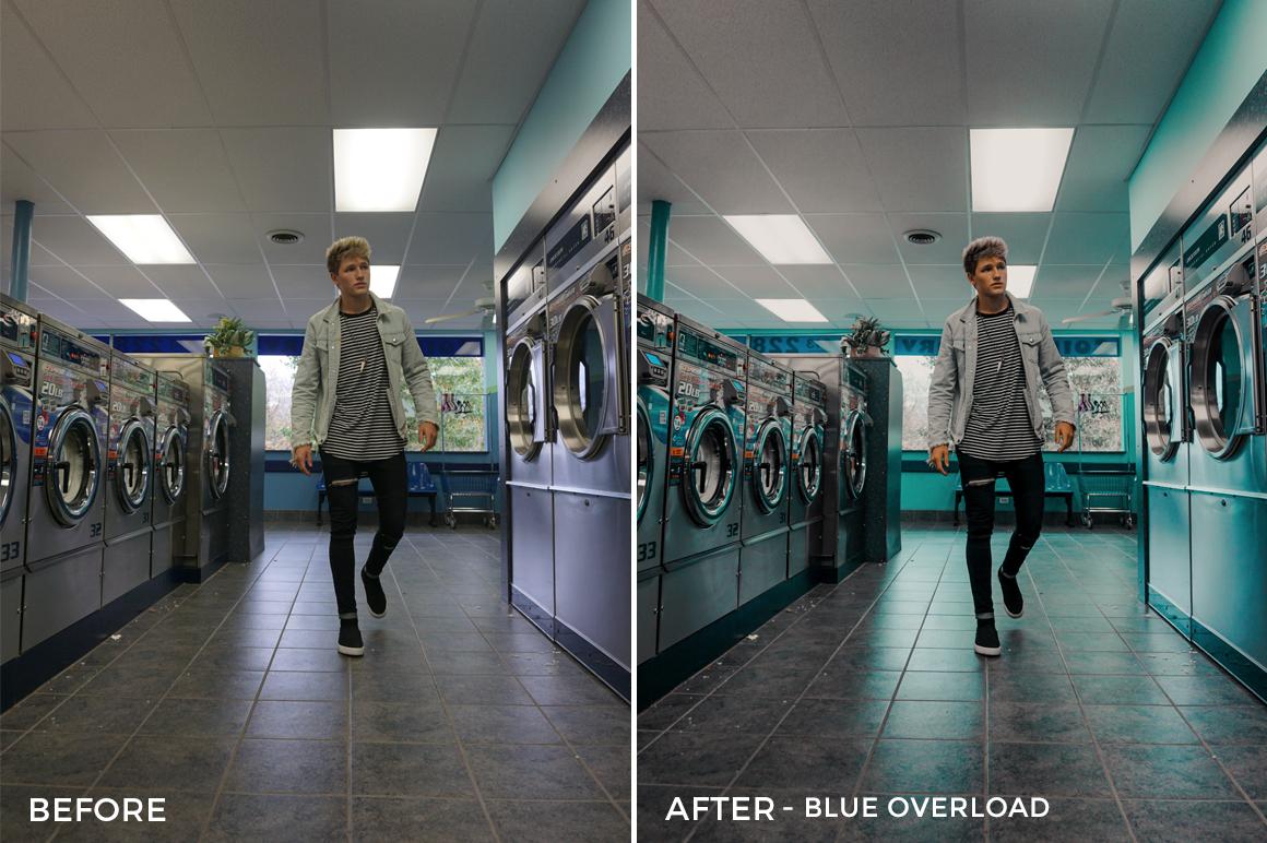 Blue Overload - Drew Dirksen Lightroom Presets - FilterGrade
