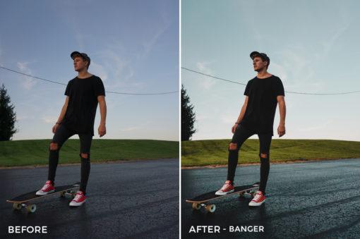 Banger - Drew Dirksen Lightroom Presets - FilterGrade