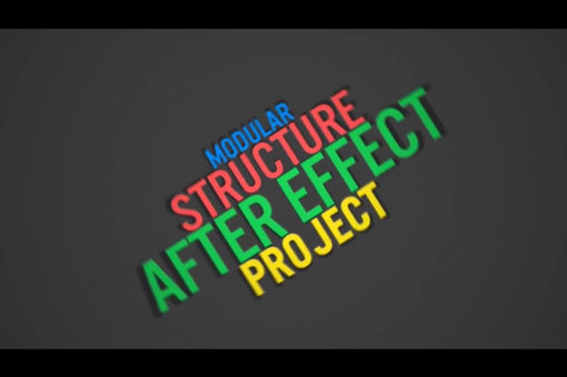 bright animated text for after effects