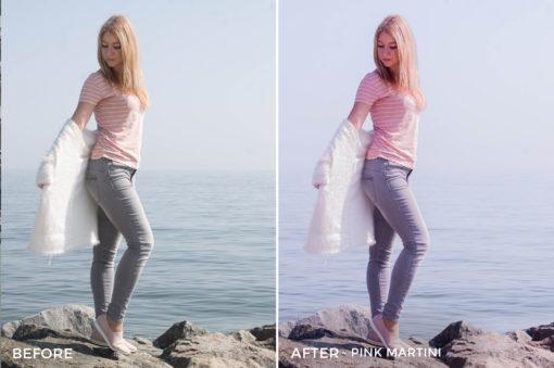 Pink Martini - Martini Pastel Lightroom Presets - FilterGrade