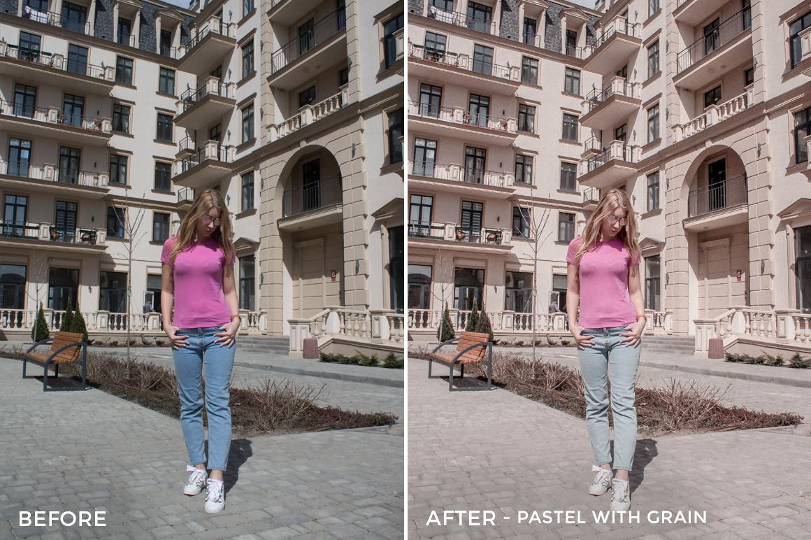 Pastel with Grain - Martini Pastel Lightroom Presets - FilterGrade