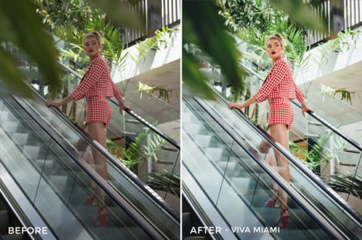 Viva Miami - Dennis Tejero Fashion Lightroom Presets - FilterGrade