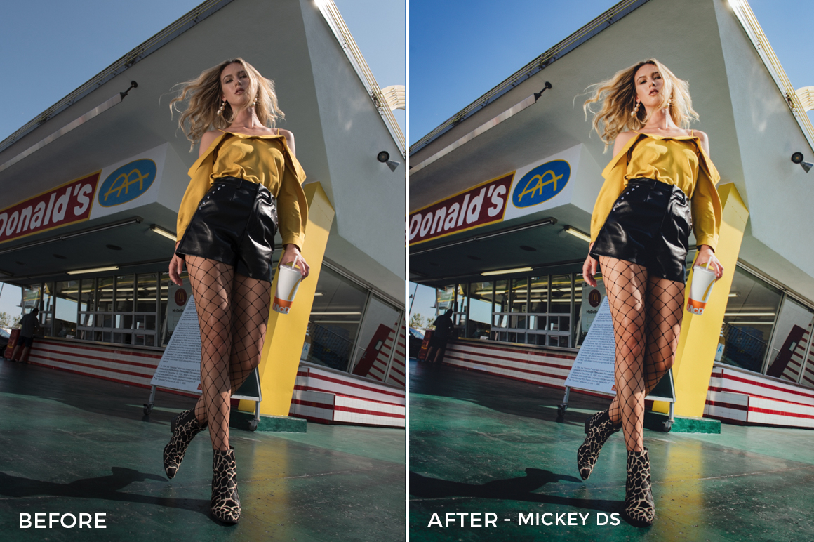 Mickey Ds - Dennis Tejero Fashion Lightroom Presets - FilterGrade