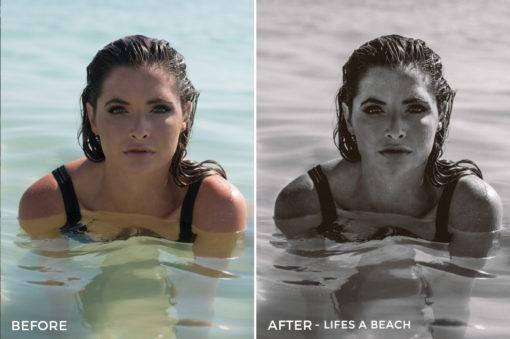 Life's a Beach - Dennis Tejero Fashion Lightroom Presets - FilterGrade