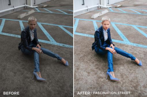 Fascination Street - Dennis Tejero Fashion Lightroom Presets - FilterGrade