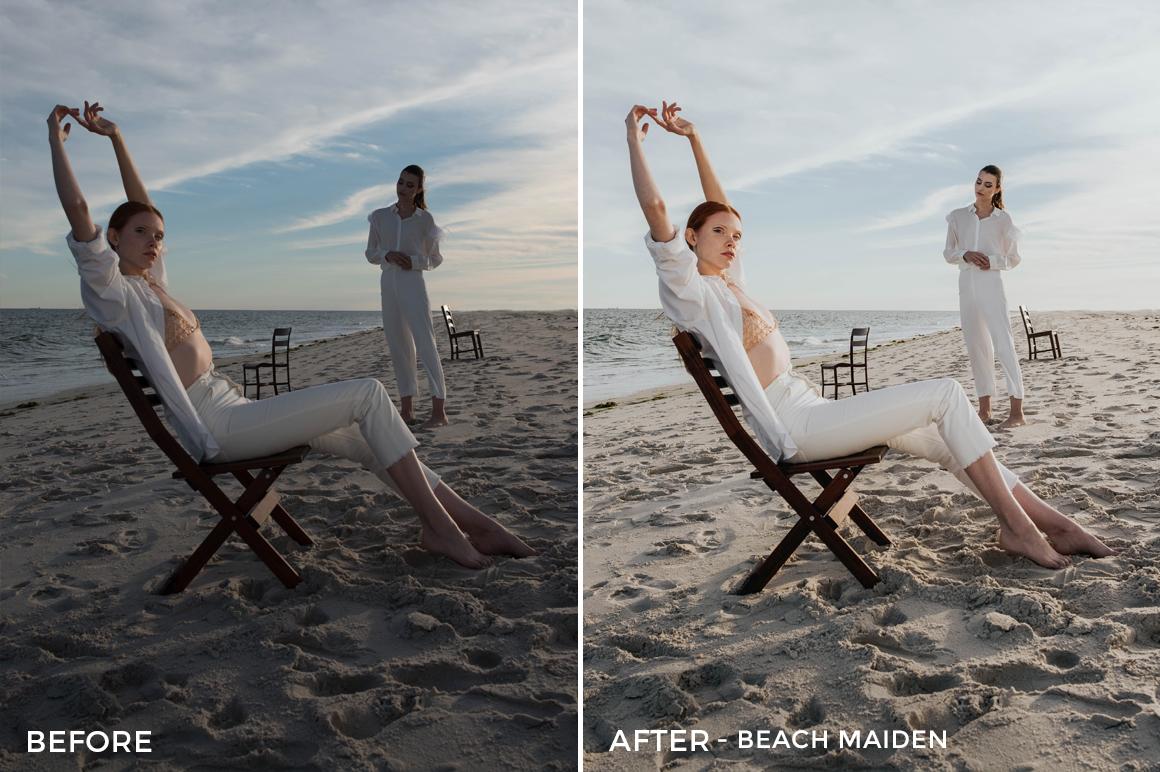 Beach Maiden - Dennis Tejero Fashion Lightroom Presets - FilterGrade