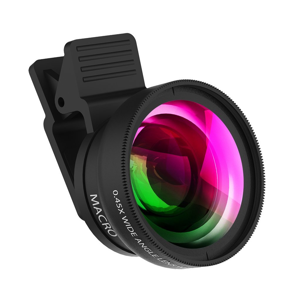 zptone cell phone camera lens clip-on