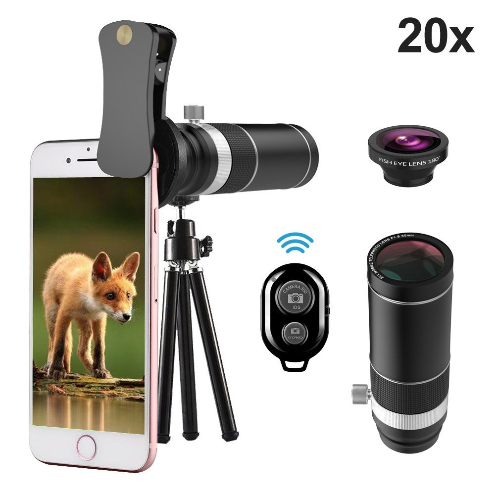 umtele mobile phone camera lens kit