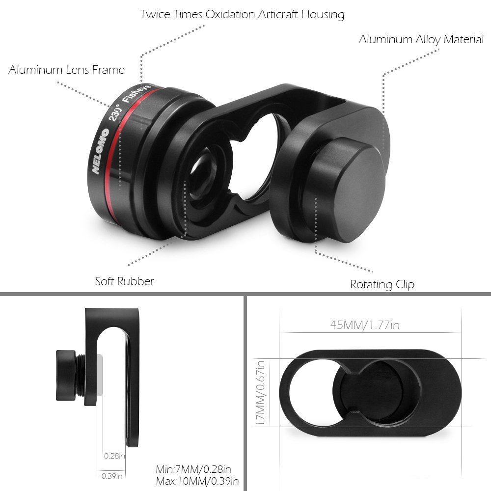 nelomo mobile iphone and samsung phone lens